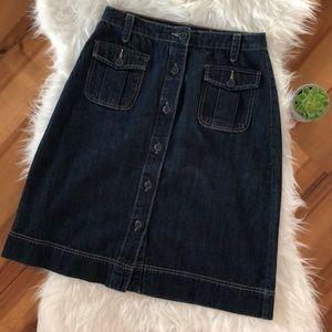 •Old Navy• denim buttoned skirt